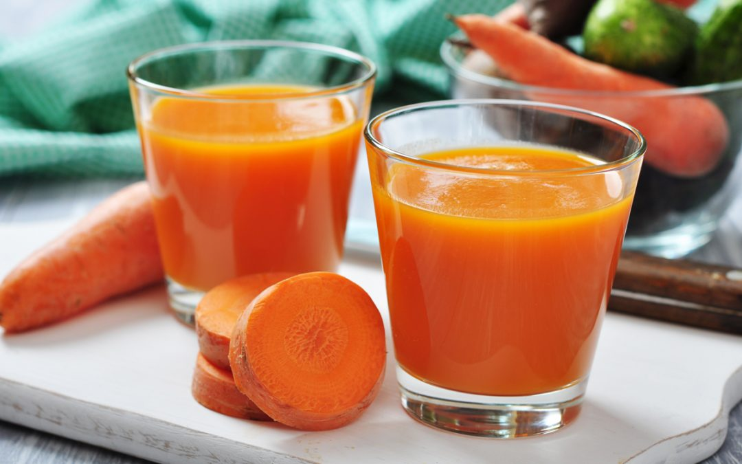 CARROT JUICE FOR GORGEOUS SKIN