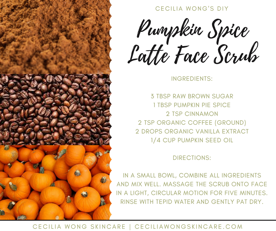 Pumpkin spice for your face 3 fall diy recipes for glowing skin do it yourself recipes to help you utilize fresh and seasonal produce as i like to say when life gives you pumpkins make pumpkin spice latte face solutioingenieria Images